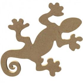 Lézard Gecko à décorer - Gomille - Em création
