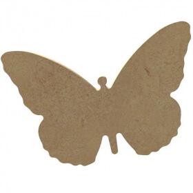 Papillon à décorer - Gomille - Em création