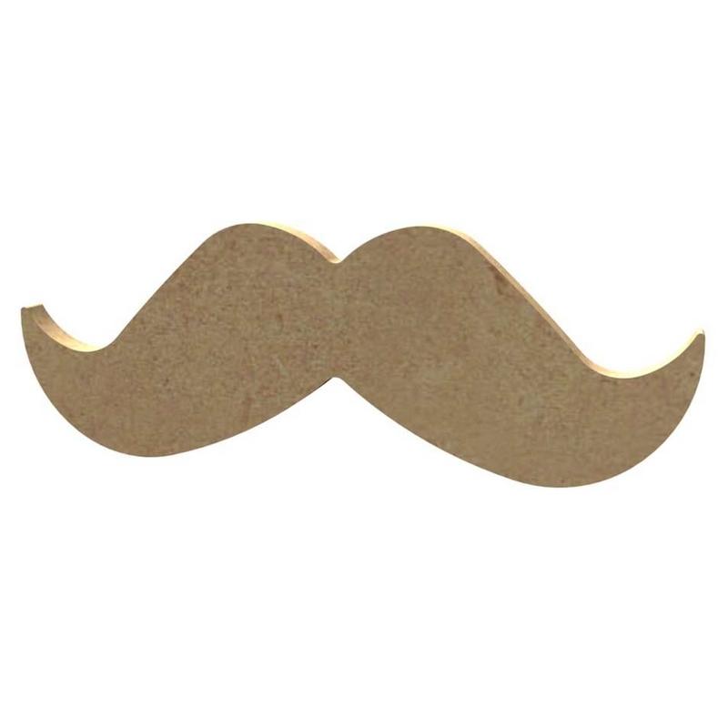 Moustache à décorer - Gomille