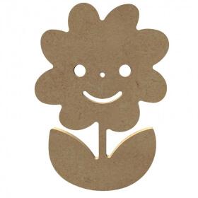 Fleur - Marguerite à décorer - Gomille - Em création