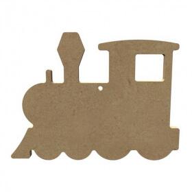 Locomotive à décorer - Gomille - Em création