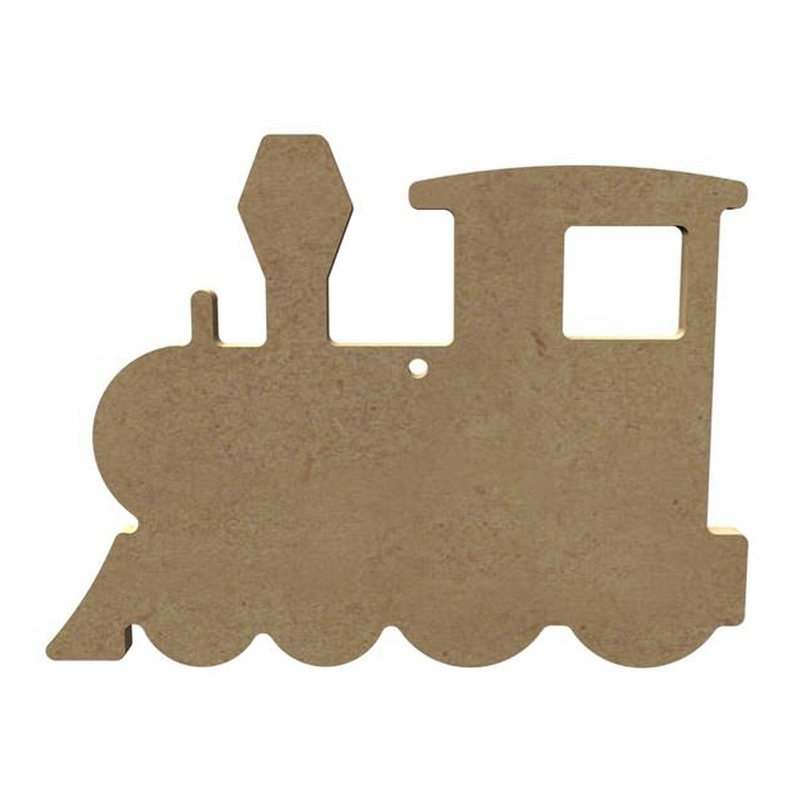 Locomotive à décorer - Gomille