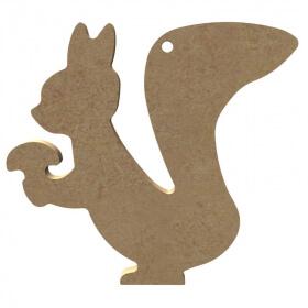 Ecureuil à décorer - Gomille - Em création