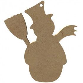 Bonhomme de neige à décorer - Gomille - Em création