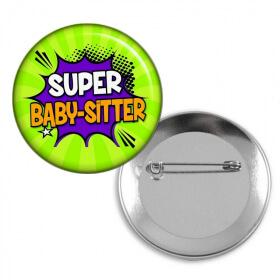 Badge baby-sitter - Angora - Em création