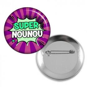 Badge Nounou - angora - Em création