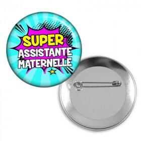 Badge Assistante maternelle - Em création
