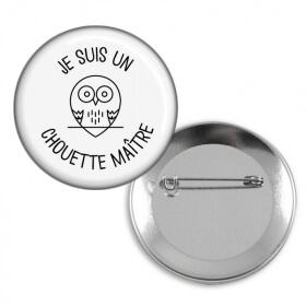 Badge Maître d'école - idée cadeau Maître d'école - Em création