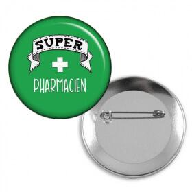 Badge Pharmacien - Angora - Em création