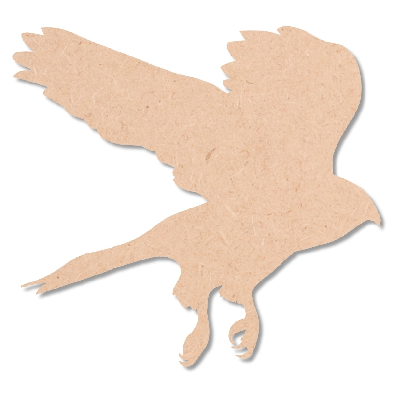 Aigle à décorer - En bois - Miris