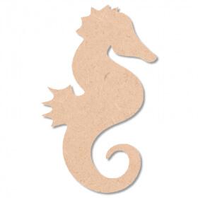 hippocampe à décorer -hippocampe à peindre - En bois - Miris - Em création