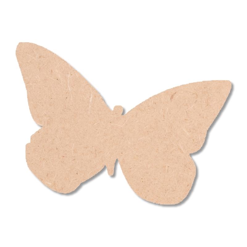 Papillon à peindre - Silhouette à peindre - Miris