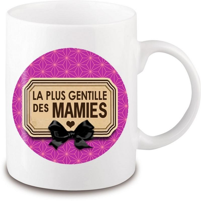 Mug Mamie - tasse mamie - Idée cadeau Mamie - Cadeau anniversaire