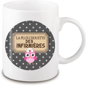 Mug infirmière - Idée cadeau infirmière - Tasse infirmière - angora - Em création