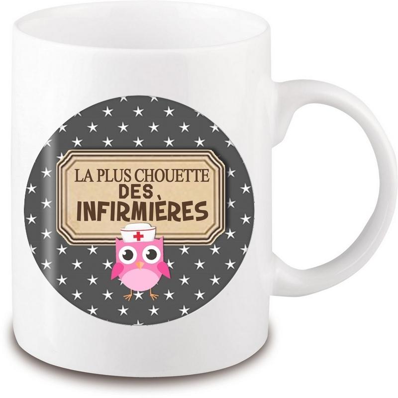 Mug infirmière - Idée cadeau infirmière - Tasse infirmière - angora