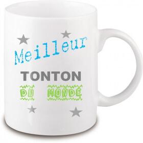 Mug tonton - Idée cadeau tonton - Tasse tonton - Em création