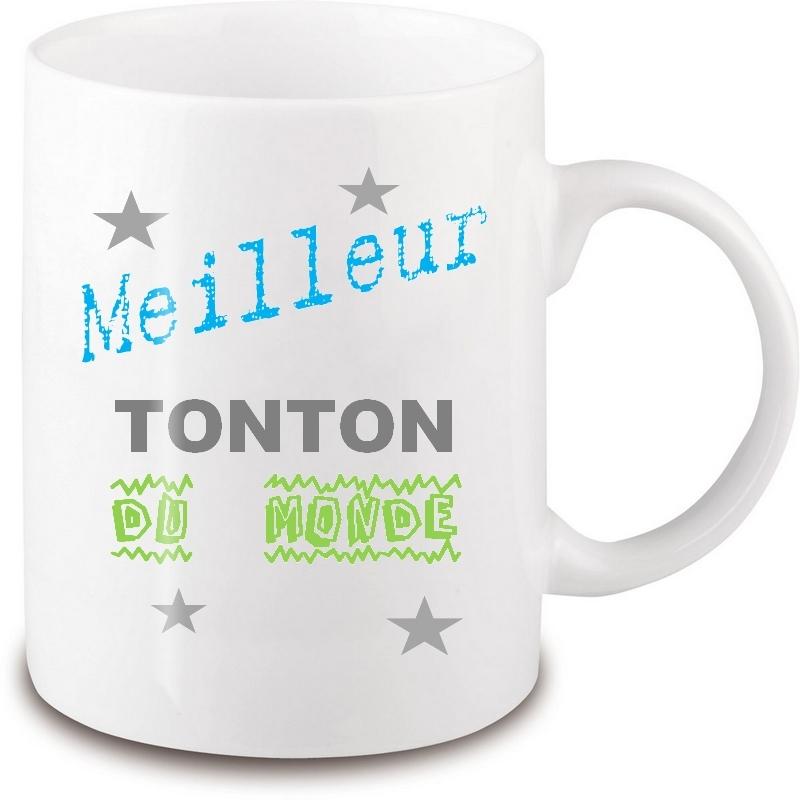 Mug tonton - Idée cadeau tonton - Tasse tonton
