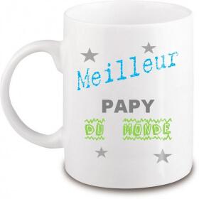 Mug papy - Idée cadeau papy - Tasse papy - angora - Em création