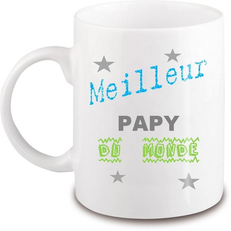 Mug papy - Idée cadeau papy - Tasse papy - angora