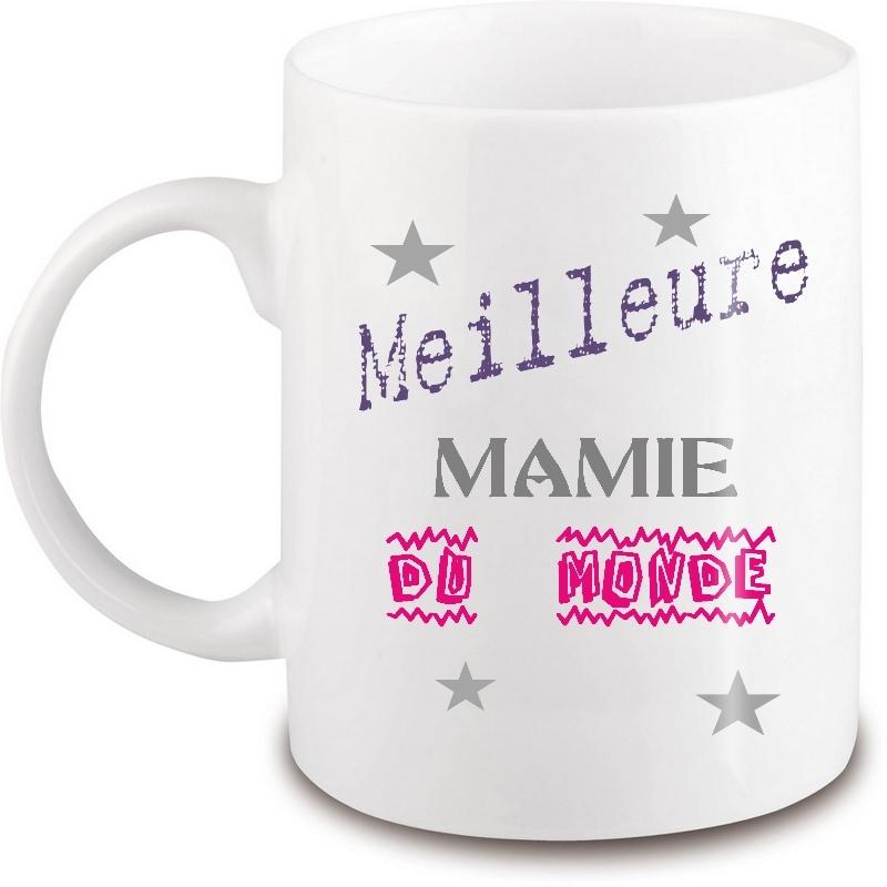 Mug mamie - Idée cadeau mamie - Tasse mamie - angora