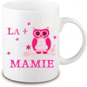 Mug mamie - Idée cadeau mamie - Anniversaire mamie - Fête des grands-mères - Tasse mamie- angora - Em création