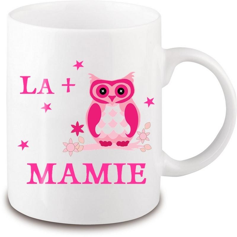 Mug mamie - Idée cadeau mamie - Anniversaire mamie - Fête des grands-mères - Tasse mamie- angora