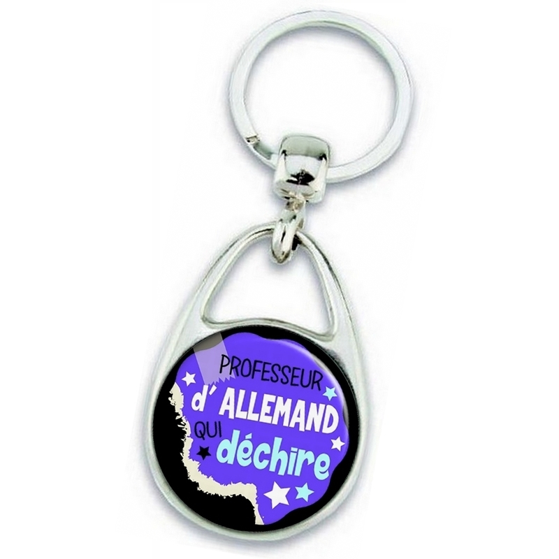 Porte clés professeur d'allemand - Idée cadeau