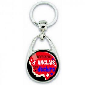 Porte clés professeur d'anglais - Em création