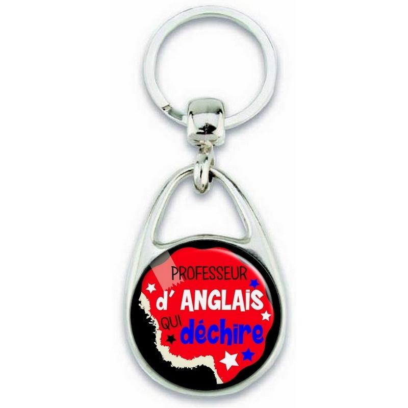 Porte clés professeur d'anglais