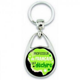 Porte clés professeur de francais - Em création