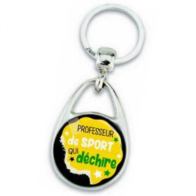Porte clés professeur de sport - idée cadeau - Em création