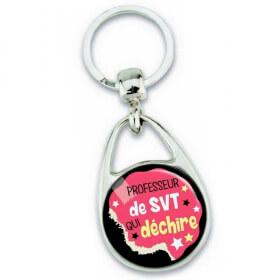 Porte clés professeur de svt - Idée cadeau - Em création