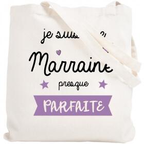 Tote bag Marraine