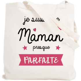 Tote bag Maman - Sac shopping Maman - Angora