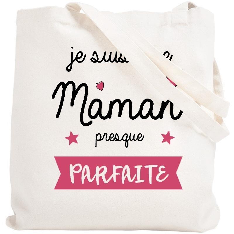 Tote bag Maman - Sac shopping Maman - Angora
