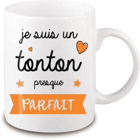 Mug Tonton - Anniversaire tonton - Fête Tonton - angora - Em création
