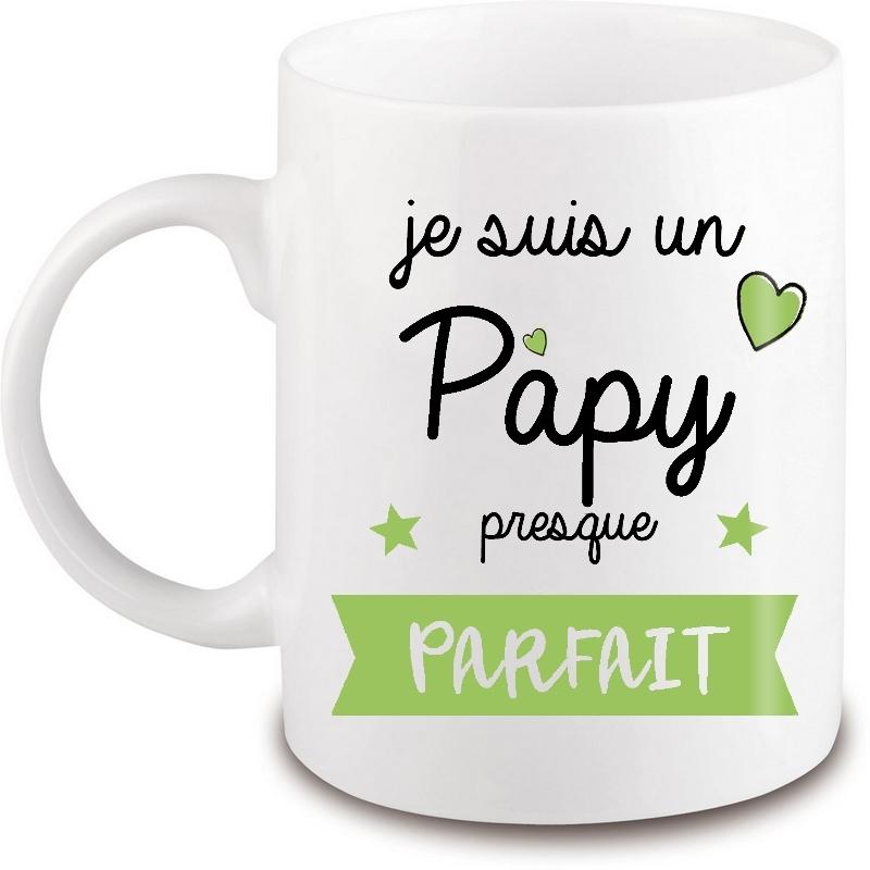 Mug Papy - Idée cadeau - Anniversaire - Fête - Angora