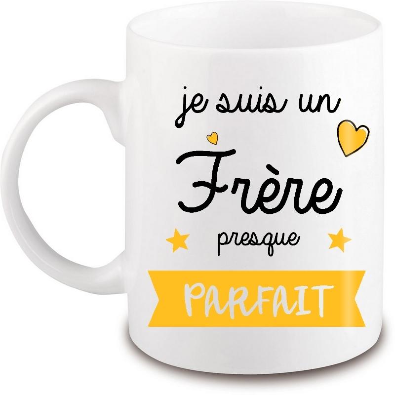 Mug Frère - Tasse Frère - Idée cadeau - Angora