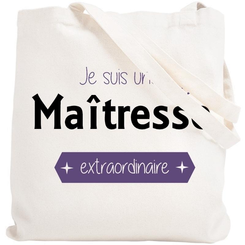 Tote bag maîtresse - Sac Shopping Maîtresse - Angora