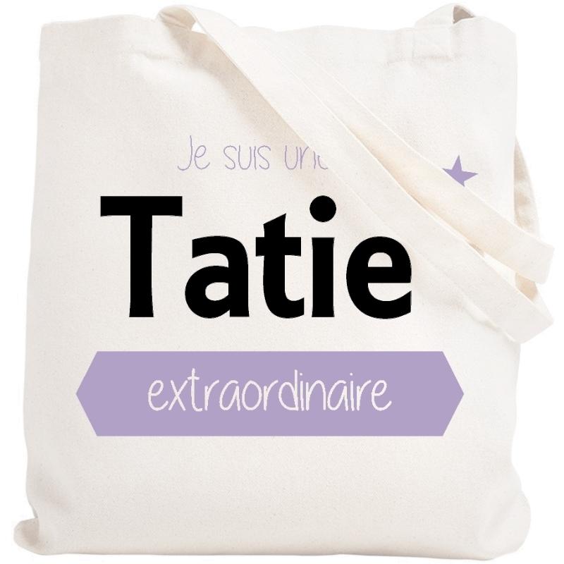 Tote bag Tatie - Idée cadeau Tatie