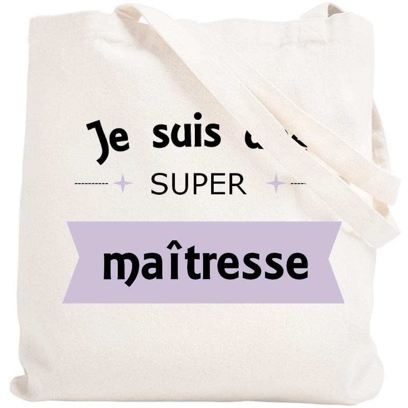 Sac shopping Maîtresse - Tote bag maitresse - Angora