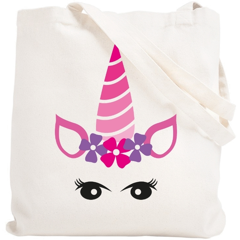 Tote bag Licorne - Sac shopping Licorne - Angora