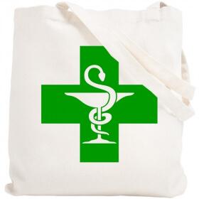 Tote bag Pharmacie - Sac - angora - Em création