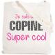 Tote bag Copine