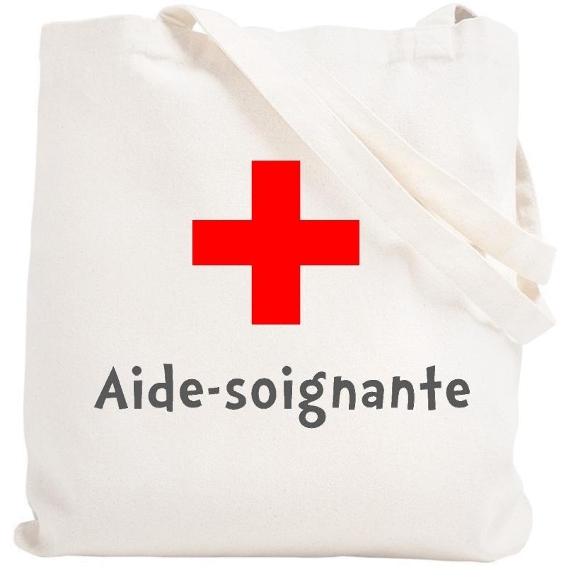 Tote bag Aide-Soignante - Sac shopping Aide soignante - angora