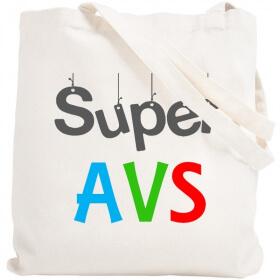 Tote bag Aide de Vie Scolaire - Tote bag AVS - angora - Em création
