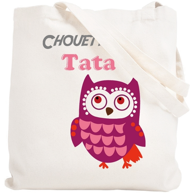 Tote bag Tata - Sac shopping Tata - Sac course Tata - Angora
