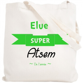 Tote bag Atsem - Sac course Atsem - Sac shopping Atsem - angora