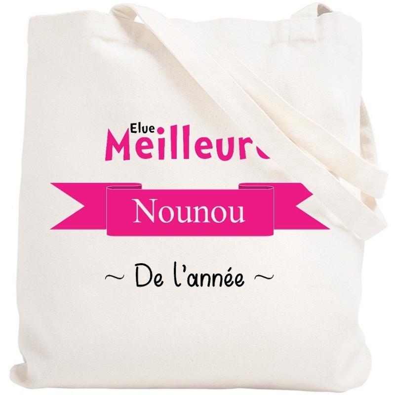 Tote bag Nounou - Sac course nounou - angora