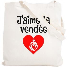 Tote bag Vendée - Sac shopping Vendée - Angora - Em création